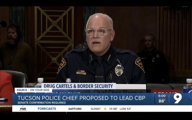 Watch: Biden nominiert schwulen Polizeichef zum obersten Grenzschützer
