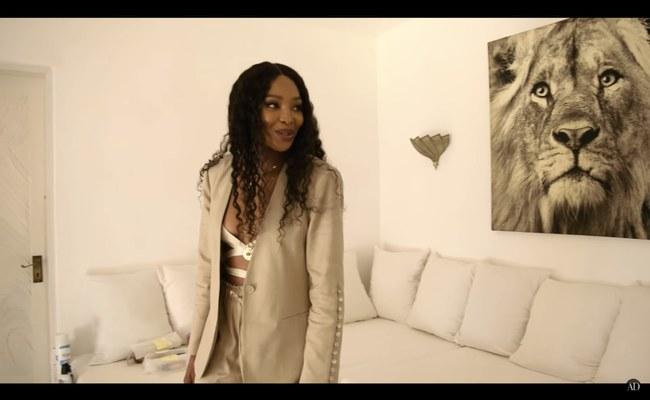 Watch: So lebt Naomi Campbell in Kenia...